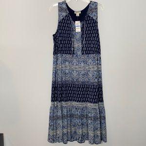 Style & Co. Lined Sleeveless Boho Dress